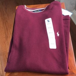 Polo  long sleeve men's shirt